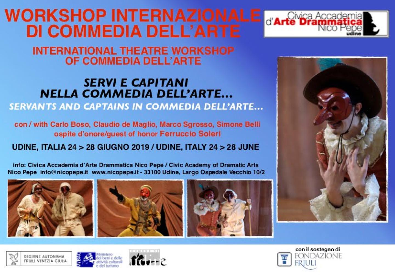 Workshop Internazionale di Commedia dell'Arte